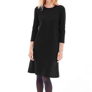 J Jill • Long Sleeve Sweater Dress Midi